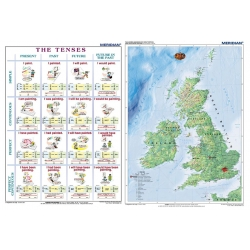 DUO The tenses active voice / The British Isles Physical/