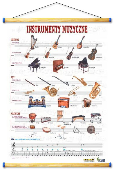 Modne ubrania Instrumenty muzyczne NU41